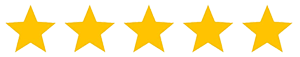 yellow colored five stars